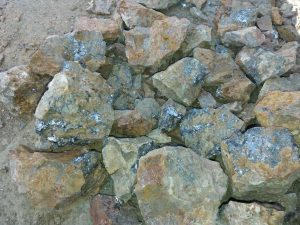 سنگ معدن سرب سمنان عیار بالا